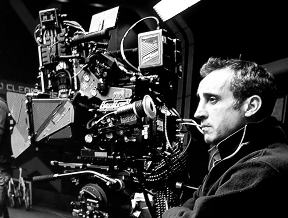 cinematographer at work with RED CAMERA